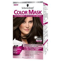 Color Mask, Farba do włosów, 500 Średni brąz