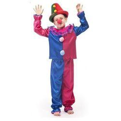 Strój Klaun - przebrania / kostiumy dla dzieci - 110 cm