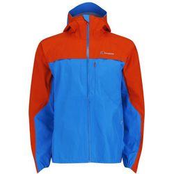Berghaus Men's Vapour Storm Shell Jacket - Blue/Orange - XXL