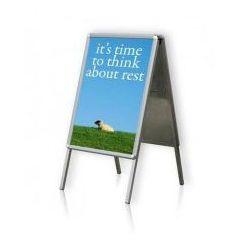 Tablica plakatowa na stojaku typu A 2x3 B2