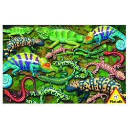 4-005553 Puzzle Jaszczurki