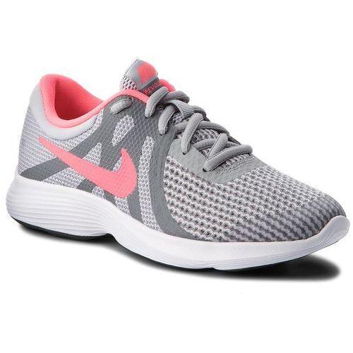 on sale 2e89d 2fdfb Buty NIKE - Revolution 4 (GS) 943306 003 Wolf GreyRacer PinkCool Grey