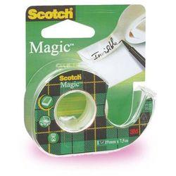 SCOTCH Taśma klejąca Magic na podajniku 810, 19mmx7,6m
