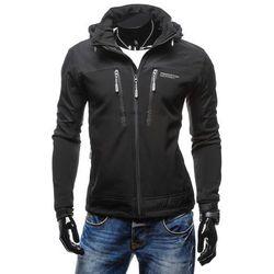 Czarna kurtka męska przejściowa Denley P2300 Kurtki i Płaszcze 129.99 (-24%)