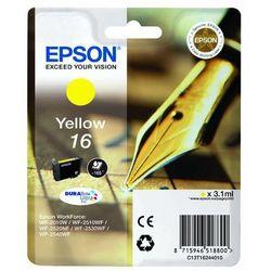 Epson oryginalny ink C13T16244010, T162440, yellow, 3.1ml, Epson WorkForce WF-2540WF, WF-2530WF, WF-2520NF, WF-2010