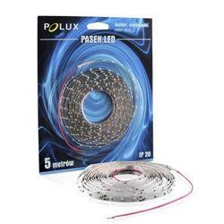 Taśma LED 24W POLUX 5 metrów niebieska barwa światła IP20
