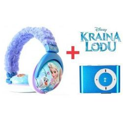 Słuchawki Frozen Dzieci Kraina Lodu Odtwarzacz MP3