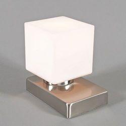 Lampa stołowa Touch Me kwadratowa stal