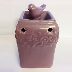 Kominek zapachowy PTASZKI kwadratowe fioletowy