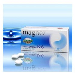 MAGNEZ + WITAMINA B-6 50 tabl