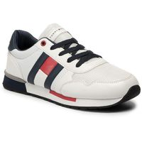 Tommy Hilfiger Sneakersy Low Cut Lace-Up Sneaker T3B4-30483-0733 Biały