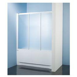 SANPLAST kabina nawannowa Classic 160 wnękowa szkło CR (parawan) DTr-c-W-160 600-013-2441-01-370