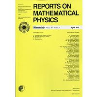 Reports on Mathematical Physics 75/2 2015 Pergamon (opr. miękka)