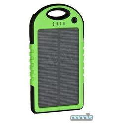 PowerNeed ładowarka solarna 1,2W powerbank 5000mAh