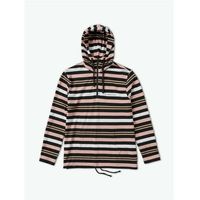 bluza DIAMOND - Marquise Striped Zip Hoodie Black (BLK)