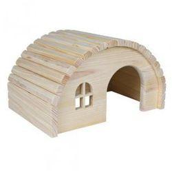 Domek dla gryzoni z drewna sosnowego Rozmiar:19 × 11 × 13 cm