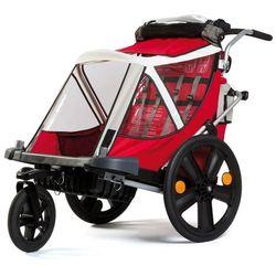 Przyczepka rowerowa BELLELLI City Czerwona + DARMOWY TRANSPORT! + Zamów z DOSTAWĄ JUTRO!