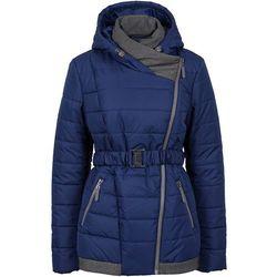Zimowy krótki płaszcz bonprix kobaltowy