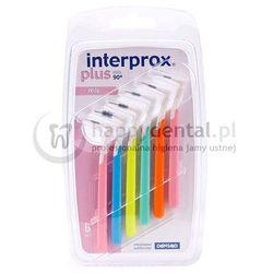 Dentaid INTERPROX Range-MIX 6szt. - zestaw szczoteczek do czyszczenia przestrzeni międzyzębowych różnych rozmiarów