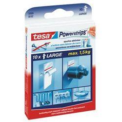TESA Plastry mocujące Powerstrips do 1,5kg, opakowanie 10 szt.