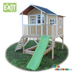 Domek ogrodowy dla dzieci EXIT Loft 550 naturalny