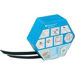 Taśma rzepowa Do przyklejenia Główka grzybkowa (DxS) 5000 mm x 25 mm Czarny 3M 3M SJ 355D Dual Lock Spendebox 1 par(a)