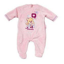 Ubranko dla lalki Baby born Dress & Romper różowe