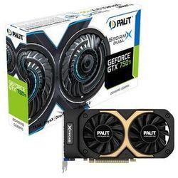 Palit GeForce GTX750Ti StormX Dual 2GB DDR5 128bit - produkt w magazynie - szybka wysyłka!