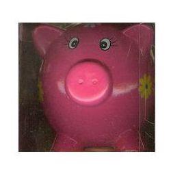 Skarbonka świnka różowa duża