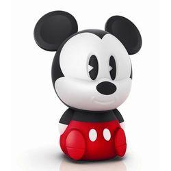 DISNEY - Lampka nocna ładowana Softpal LED Mickey Mouse Wys.18cm