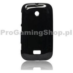 Sprawa silikonowe Jelly Case dla Nokia Lumia 510, Black