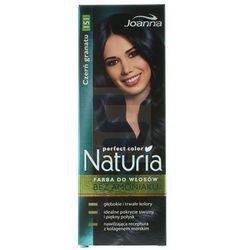 Joanna Naturia Perfect Color Farba do włosów bez amoniaku Czerń Granatu nr 151