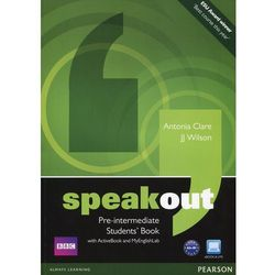 Speakout Pre-Intermediate, Student's Book (podręcznik) plus Active Book plus MyEnglishLab (opr. miękka)