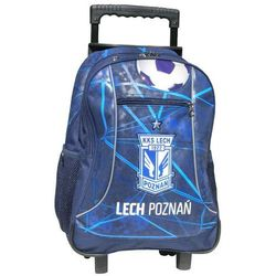 Lech Poznań, plecak szkolny, trolley, granat Darmowa dostawa do sklepów SMYK