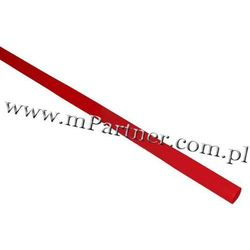 Rura termokurczliwa elastyczna V20-HFT 3,5/1,8 10szt czerwona