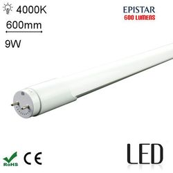 LED 60CM T8 9W 4000K SC Świetlówka LED neutralna 600mm G13 o mocy 9W 600 lumenów 4000K