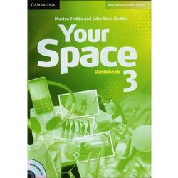 Your Space 3 Workbook (zeszyt ćwiczeń) with Audio CD (opr. miękka)