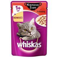 Whiskas Kremowa zupa z wołowiną - saszetka 85g