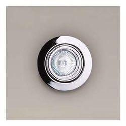 Oczko LAMPA sufitowa H0038 Maxlight podtynkowa OPRAWA halogenowa wpust okrągła chrom