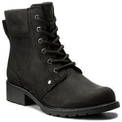46fae639abe8a botki damskie sztyblety clarks orinoco club 203409184 black leather ...