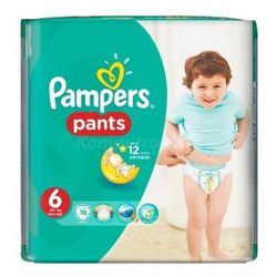 Pampers Active Baby Pants pieluchomajtki 6 Extra Large 19 szt.