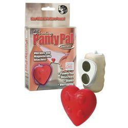 Vibrating Panty Pal Heart -Red