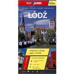 Łódź, Zgierz, Pabianice plan miasta 1:24 500 (opr. broszurowa)