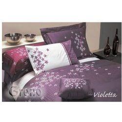 Pościel Satyna Haftowana 160x200 Violetta