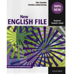 New English File Beginner Student's Book - Oxenden Clive, Latham-Koenig Christina (opr. miękka)