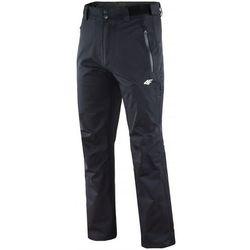 Męskie spodnie trekkingowe 4F T4L15-SPMTR001 czarne