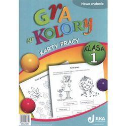 Gra w kolory. Klasa 1. Szkoła podstawowa. Karty pracy (opr. broszurowa)