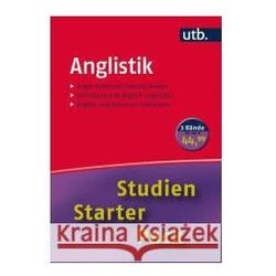 Studien-Starter-Pack Anglistik, 3 Bde.