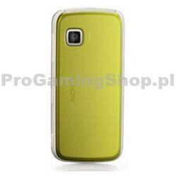 wymiana tylnej obudowy do telefonu Nokia 5230 telefon komórkowy | Żółty Stylus +
