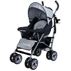 Caretero SPACER CLASSIC wózek dziecięcy spacerówka szary grey
